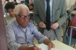 Emozionato tra i banchi di scuola: a 81 anni sostiene gli esami di terza media