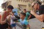 Tutti a lezione di boxe: progetto alla Vucciria