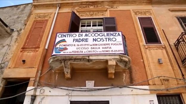 centro padre nostro brancaccio, minacce centro padre nostro, Palermo, Cronaca