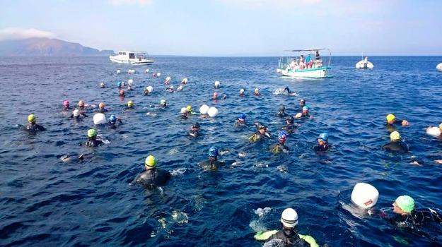 egadi swim race, nuoto, Trapani, Sport