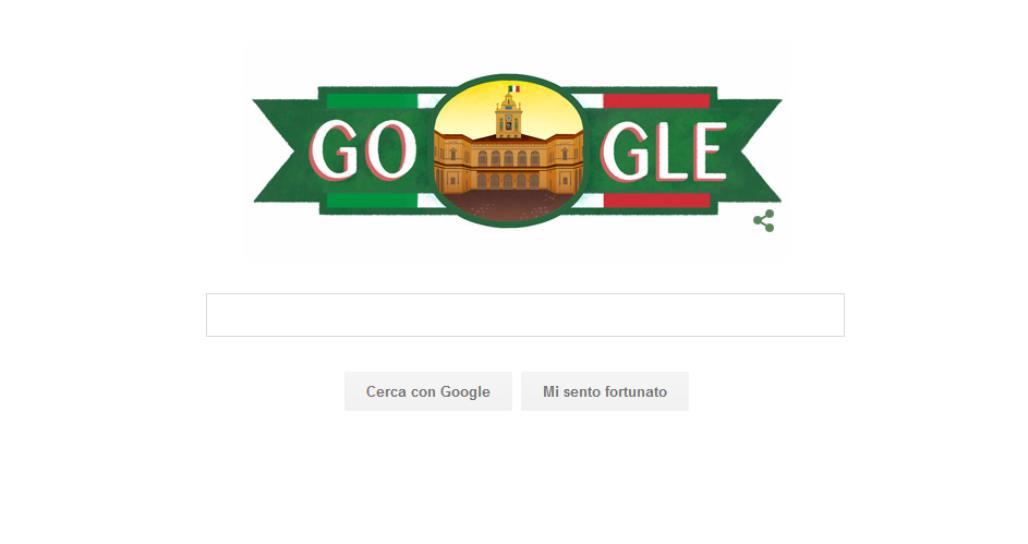 Festa del 2 giugno anche google celebra la repubblica for Home page repubblica