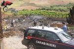 Danno fuoco a un'isola ecologica, arrestati due fratelli a San Giuseppe Jato