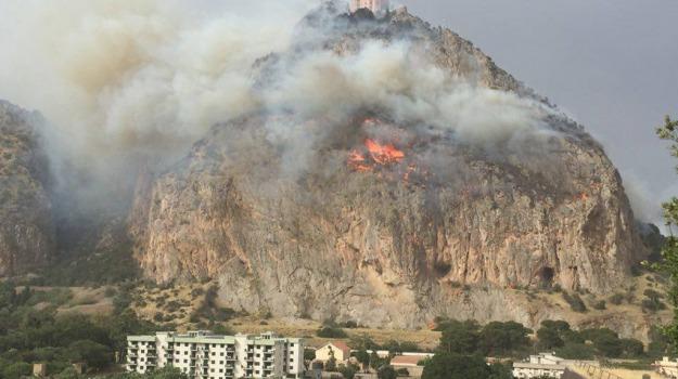 incendi, Palermo, scirocco, Palermo, Cronaca