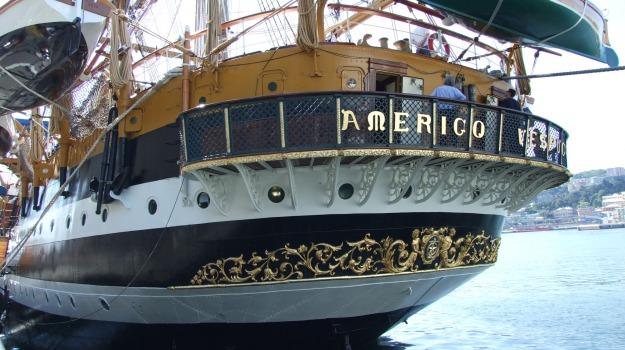 marina militare, nave vespucci, porto, Trapani, Cronaca