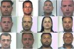 A Messina le mani dei clan su scommesse e beni confiscati - Nomi e foto degli arrestati