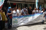 Concorsi bloccati nella sanità, la protesta degli infermieri a Palermo
