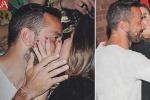 Insieme a Capri: coccole e baci tra Quagliarella e Claudia Galanti