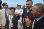 Inaugurato il belvedere sulla Scala dei Turchi, il sindaco di Realmonte: è la festa della bellezza e della legalità - Video