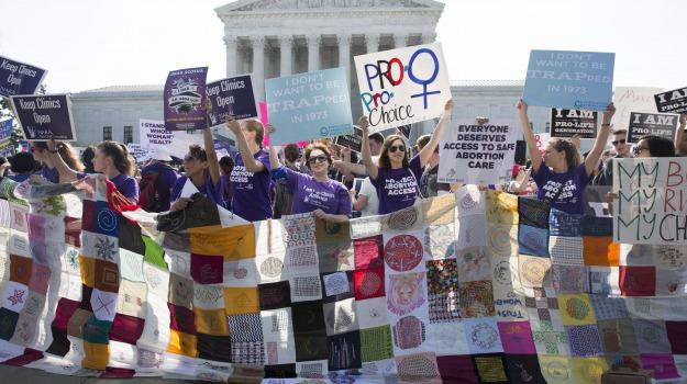 aborto, corte suprema Usa, Stati Uniti, texas, Sicilia, Mondo
