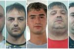 Blitz a Catania, i nomi e le foto degli arrestati