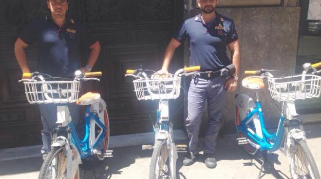 bicicletta, bike sharing, polizia, Palermo, Cronaca