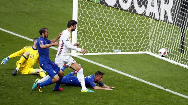 Calcio, euro2016, Italia-Spagna, Sicilia, Sport