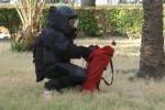 In giro per Palermo con una bomba in moto, le immagini del disinnesco - Video