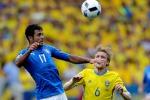 Non bella ma vincente: l'Italia batte la Svezia con un gol di Eder e vola agli ottavi