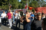 Protesta dei lavoratori Fincantieri a Palermo, traffico in tilt