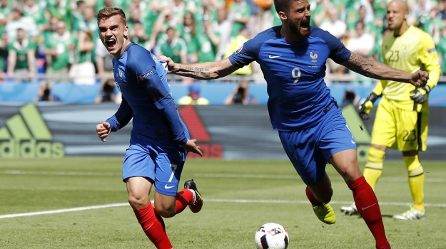 Euro 2016, francia, irlanda, Sicilia, Sport