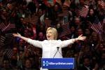 Hillary trionfa in California: è la prima donna nella storia americana
