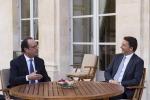 """Renzi da Hollande: """"Ottima sintonia, ora rilanciare l'Unione europea"""""""