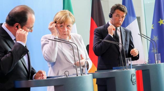 brexit, Angela Merkel, francois hollande, Matteo Renzi, Sicilia, Economia