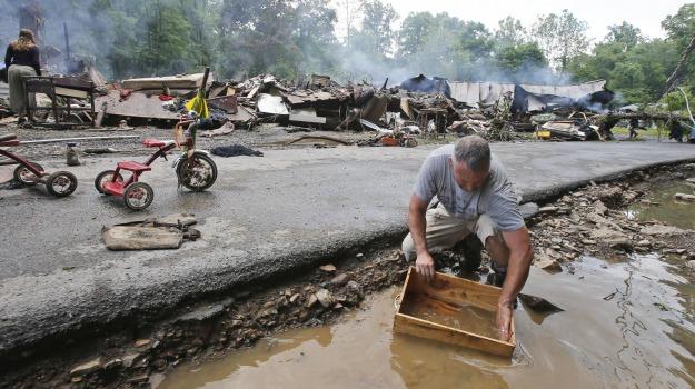 inondazioni Virginia, USA, Virginia, Sicilia, Mondo