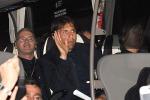 L'Italia sbarca in Francia: le foto dell'arrivo degli azzurri