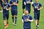 Italia-Germania, De Rossi e Candreva verso il forfait
