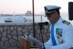 Il capitano di Vascello Martinez promosso a Contrammiraglio