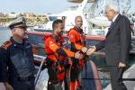 """Mattarella a Lampedusa: """"Grati a quest'isola"""" - Video"""