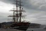 """La """"Amerigo Vespucci"""" fa tappa a Trapani, nona tappa per la nave scuola"""