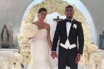"""Nozze """"social"""" per Melissa Satta e Kevin Boateng: ecco le foto del matrimonio"""