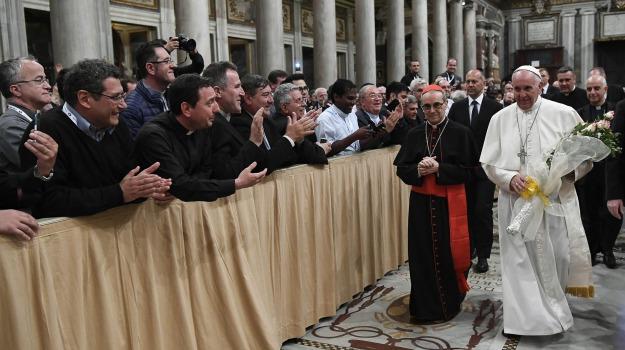 Giubileo dei sacerdoti, Papa Francesco, Sicilia, Cronaca