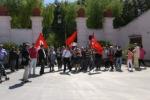 Case di via Attinelli, sit-in degli inquilini a Villa Niscemi