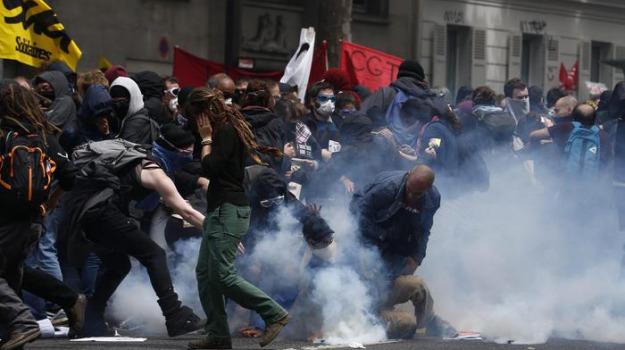 francia, proteste jobs act, Sicilia, Mondo