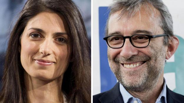 ballottaggio, elezioni, Movimento 5 stele, pd, sindaco, Roberto Giachetti, Virginia Raggi, Sicilia, Politica