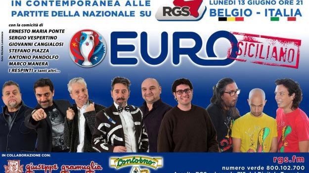 europei 2016, radio, rgs, Sicilia, Sport