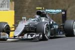 Gp d'Europa, pole per Rosberg: Ferrari in seconda fila, Hamilton sbatte