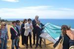 L'inaugurazione del Belvedere