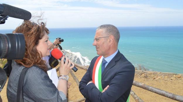 intimidazione sindaco realmonte, Agrigento, Cronaca