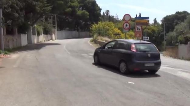 caduta massi monte pellegrino, Palermo, Cronaca