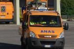 Sommatino, incidente sulla Statale: ferito un motociclista di 28 anni