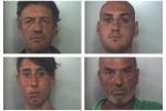 Furto nel cantiere della linea ferroviaria: 4 arresti a Carini
