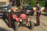 Ruba un quad e fugge a posto di blocco: un arresto a Castellammare