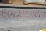 Scritta ingiuriosa, minacce al Comune di Messina
