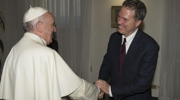 papa, sala stampa, Santa Sede, vaticano, Greg Burke, Sicilia, Cronaca