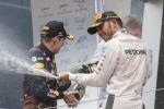Hamilton fa suo il Gp d'Austria Sorpasso all'ultimo giro, 3° Raikkonen