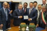 Firmato l'accordo tra le città e i porti di Palermo e Los Angeles - Video