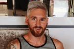 Lionel Messi e il cambio di look: adesso il fuoriclasse è biondo