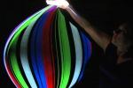 """Spettacolo di luci e suoni a Enna: è """"SpaceTime Helix"""""""