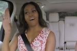 Karaoke in auto, Michelle Obama canta Beyoncè: il video