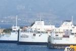 Pignorata a Messina nave traghetto delle Ferrovie